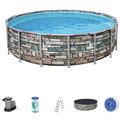 Bestway Power Steel™ Frame Pool Komplett-Set,  488 x 122 cm (56966)