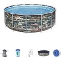 Bestway Power Steel™ Frame Pool Komplett-Set, 427 x 122 cm (56993)