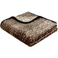 Biederlack Decke Schneeleopard simply luxury 180 x 220 cm