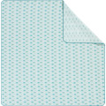 Biederlack Picknickdecke  gewebtes Polyester-Band Diamond aqua 200 x 200 cm