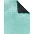 Biederlack Picknickdecke gewebtes Polyester-Band Picnic aqua 130 x 170 cm
