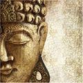 Bilderwelten Vliestapete - Vintage Buddha - Fototapete Quadrat 192x192cm