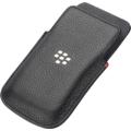 Blackberry Leather Pocket für Q5, schwarz