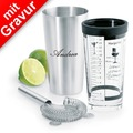 blomus LOUNGE Boston-Shaker Set MIT GRAVUR (z.B. Namen)