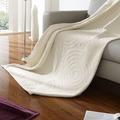 Biederlack Wohndecke Relief Cotton Twisting 150x200 cm