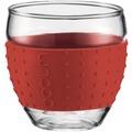 Bodum PAVINA 2 Stück Glas 0,1 l rot