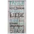 Bönninghoff Dekorative Wandgarderobe mit vier Haken, Familie