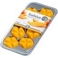 Bolsius 8er Packung Bolsius Aromatic Wax Melts, exotische Mango