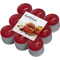 Bolsius Duft-Teelichte 4 Std. 18er Pack, Bratapfel