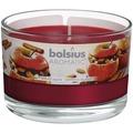 Bolsius Duftglas mit Deckel Bratapfel