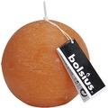 Bolsius Rustik Kugelkerzen ø 80 mm orange