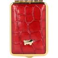 Braun Büffel Verona Pillendose 6 cm Leder rot