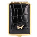 Braun Büffel Verona Pillendose 6 cm Leder schwarz