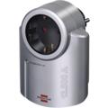 Brennenstuhl Überspannungsschutzadapter 4.500 A SP 230 V, Silber-Schwarz