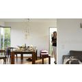 Brigitte Home Mustertapete mit Glitter, Vliestapete, floral, beige, creme, weiss 10,05 m x 0,53 m