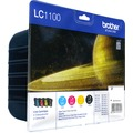 Brother Tinten Multipack LC-1100 Value Pack (4er Set)