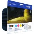 Brother Tinten Multipack LC-1100 Value Pack (4er Set)