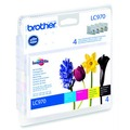 Brother Tinten Multipack LC-970 Value Pack (4er Set)