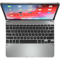 BRYDGE  Aluminum Bluetooth Tastatur, Apple iPad Pro 12,9 (2018), silber, BRY6021G