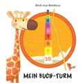 Buch und Stapelwürfel - Mein Stapelturm