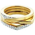 Buckley London Ring Messing vergoldet gelb 9047 50 (15,9)