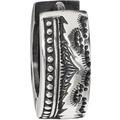 Cai Creole 925/-Sterling Silber rhodiniert oxidiert Silbergrau 20357