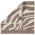 cawö Instinct Zebra Seiflappen natur 30x30 cm