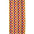 cawö Lifestyle Cubes Saunatuch multicolor 70x180 cm