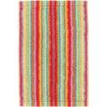 cawö Lifestyle Streifen Gästetuch multicolor 30x50 cm