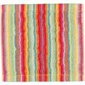 cawö Lifestyle Streifen Seiflappen multicolor 30x30 cm