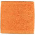 cawö Lifestyle Uni Seiflappen mandarine 30x30 cm