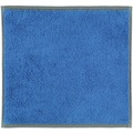 cawö Seiflappen blau 30 x 30 cm