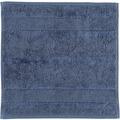 cawö Seiftuch nachtblau 30 x 30 cm