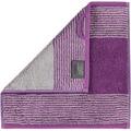cawö Seiftuch purpur 30 x 30 cm