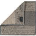 cawö Two-Tone Seiflappen graphit 30x30 cm