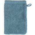 cawö Waschhandschuh petrol 16 x 22 cm, schlicht