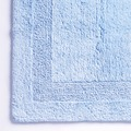cawö Wende-Badteppich mittelblau 60 cm x 100 cm