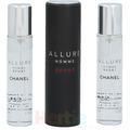 Chanel Allure Homme Sport Giftset 2x Edt Spray Refill 20Ml/ 1 Edt Spray 20ML - Twist and Spray 60 ml
