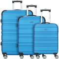 CHECK.IN Paradise Miami 2.0 4-Rollen Kofferset 3tlg. blau