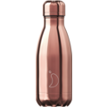 Chillys Isolierflasche Chrome Roségold 260ml