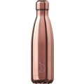 Chillys Isolierflasche Chrome Roségold 500ml