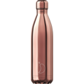 Chillys Isolierflasche Chrome Roségold 750ml
