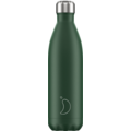 Chillys Isolierflasche Matte Green grün 750ml