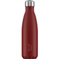Chillys Isolierflasche Matte Red rot 500ml