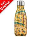 Chillys Isolierflasche MIT GRAVUR (z.B. Namen) Tropical Giraffe 260ml