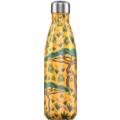 Chillys Isolierflasche Tropical Giraffe 500ml, hält 24 Stunden kalt und bis zu 12 Stunden heiß, auslaufsicher, kohlensäuredicht