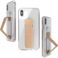 CLCKR Gripcase FOUNDATION for iPhone XS Max clear/rose gold colored