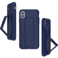 CLCKR Gripcase FOUNDATION for iPhone X/Xs blue
