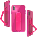 CLCKR Gripcase Neon Seasonal FW19 for iPhone XS Max neon pink