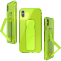 CLCKR Gripcase Neon Seasonal FW19 for iPhone XS Max neon yellow